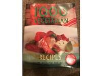 1000 vegetarian hard back recipe book