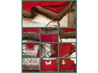 Indain women sarees new designer used only one time £30