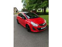 Selling 2012 Vauxhall corsa limited edition