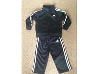Child's Adidas tracksuit (12-18 months) As new