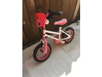 FREE Childs Minnie Mouse bike