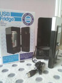USB Fridge - ultimate desktop gadget (brand new, unused: boxed)