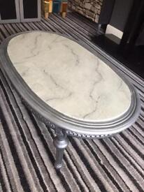 Shabby chic up cycled painted coffee table