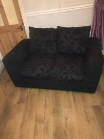 2x settee and footstool