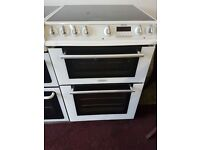 white Hotpoint electric cooker for sale