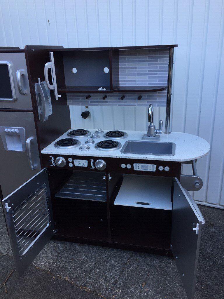 KidKraft Uptown Espresso Play Kitchen   in Gateshead, Tyne and Wear ...