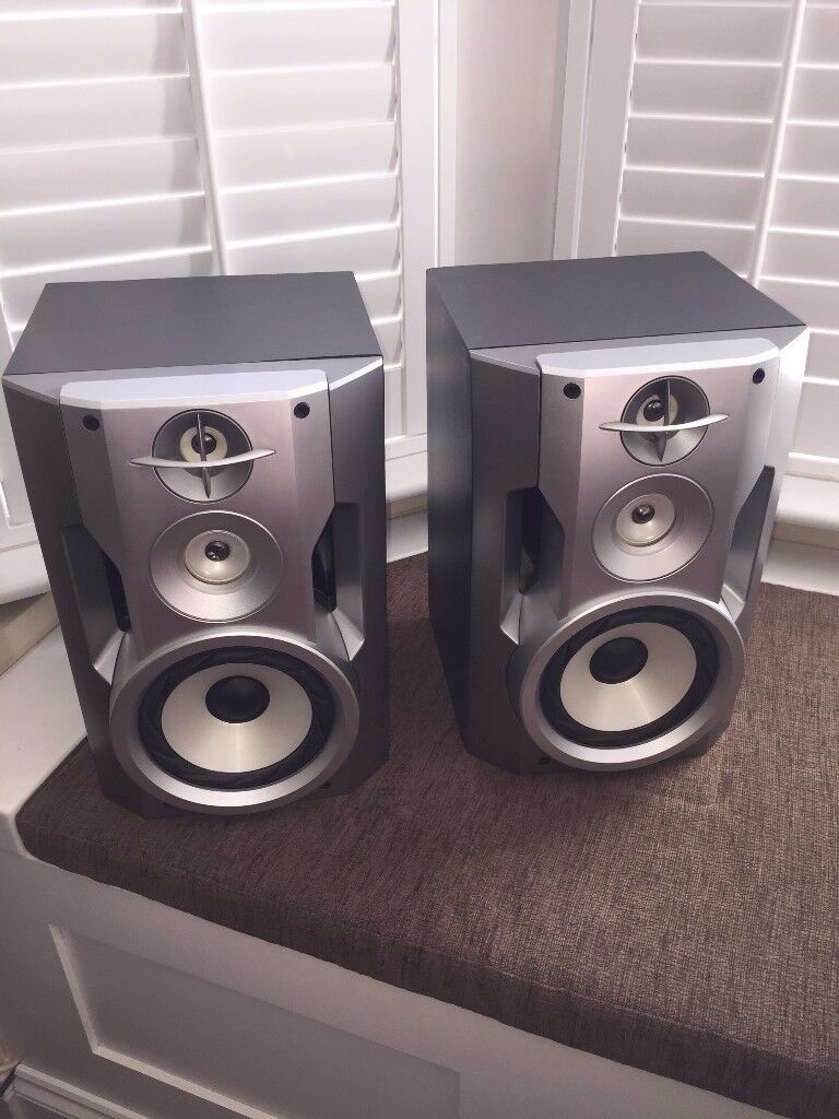 Sony Speakers SS-ZX50MD Magnetically shielded 8 Ohms