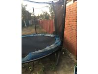 10ft TRAMPOLINE FOR SPARES OR REPAIRS