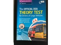 Official DSA THEORY TEST for Drivers of Large Vehicked