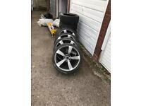 Audi A6 wheels.