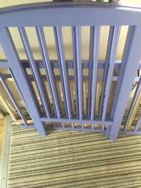 Purple compact cot
