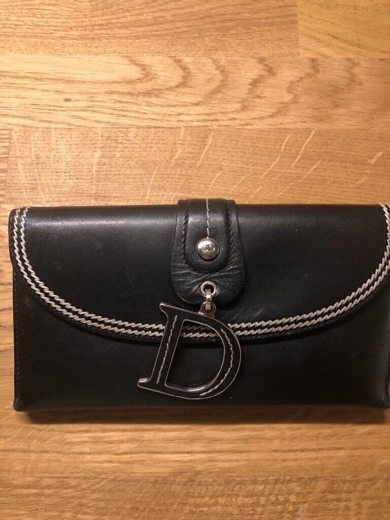a127cc3ccd Authentic used Vintage black Christian Dior purse | in York, North ...