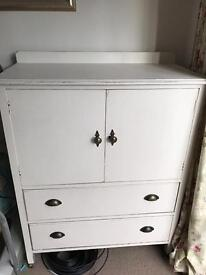 Solid wood tv unit/cabinet shabby chic