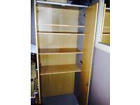 Storage cupboard with shelfs