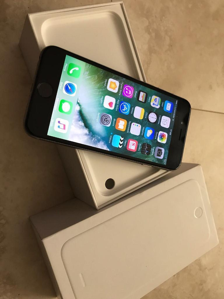 IPHONE 6 16GB UNLOCKED OPEN TO ALL NETWORK (GREYBKACKin Manchester City Centre, ManchesterGumtree - IPHONE 6 16GB UNLOCKED OPEN TO ALL NETWORK (GREY & BKACK )for sale in very good/mint condition, no problems with the phone all good working order, open to on all networks and in silver and white colour. iPhone 6 16 GB Open to all Network Silver &...