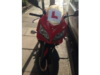 Kymco kr sport 125 (GearBike , Cheap to insure )