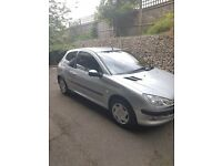 Peugeot 206 LOW MILEAGE. Great first car