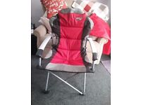 Quest Superlite Commander Camping Chairs x 2
