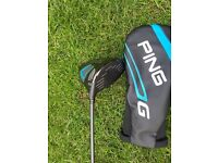 Ping G Driver 10.5 degree extra stiff staft