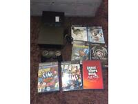 Sony ps2 console with games bundle