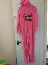 Pink Bridal Party Onsie