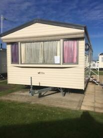 Caravan caister haven for rent