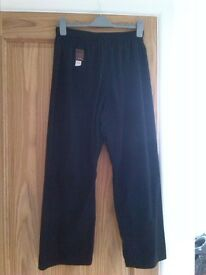 Trousers - Black for Kung Foo / Karate
