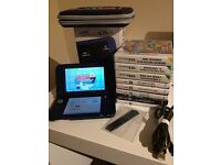 New Nintendo 3DS XL Metallic blue w/ 11 Games