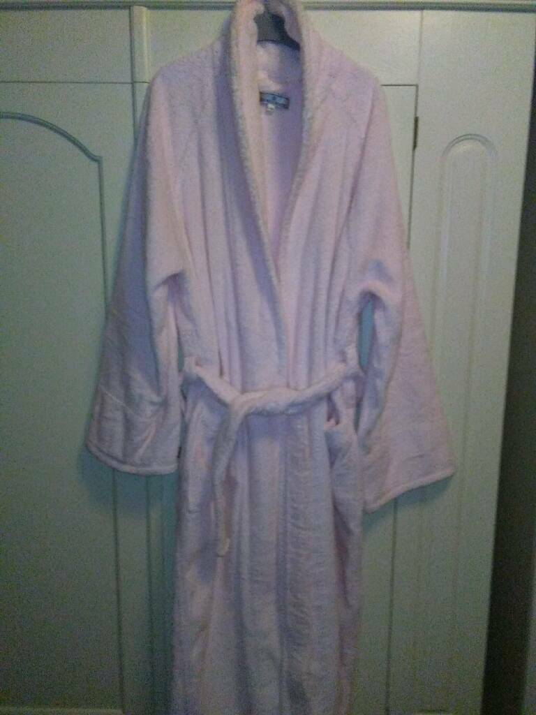 NEW ELIZABETH EMANUEL, DRESSING GOWN, IN BABY PINK SIZE 16 | in ...