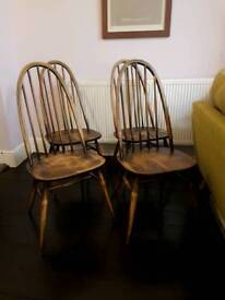 4 x ercol chairs