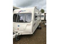 Bailey pageant burgundy 2008 4 berth fixed bed