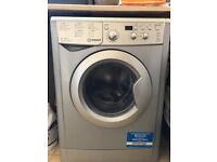 Indesit Ecotime Washer and Dryer (washing machine) IWDD 7143 S (UK) 7 Kg 1400 rpm (Silver)