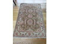 Persian Wool Wooven Rug with Fringed