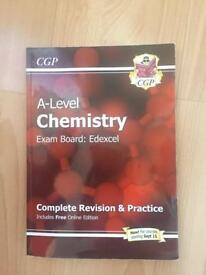 A-Level Chemistry Edexcel CGP Revision and Practice Textbook Book