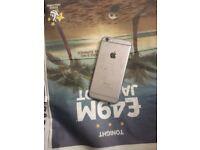 phone 6 Unlocked cracked screen black 16gb space grey broken screen glass needs replace