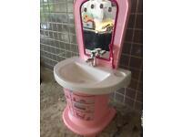 Baby born wash basin