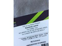 Kendrick Lamar x4 Wembley STANDING