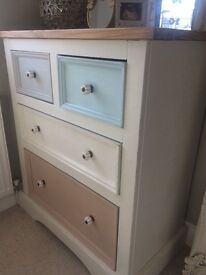 Gorgeous neutral painted chest of draws