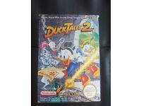 DUCK TALES 2 NINTENDO NES GAME EXCELLENT CONDITION BARGAIN!