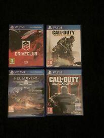 4 PS4 games swap for battlefield 1