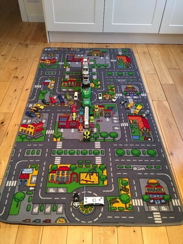 Toy Car Mat And Cars In Bearsden Glasgow Gumtree
