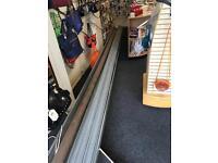 18.5 foot electric shutter