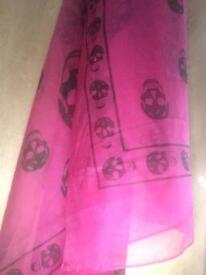 alexander mqueen scarf
