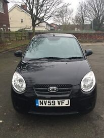 2010 Kia picanto with full 12 Months MOT and Full Service History
