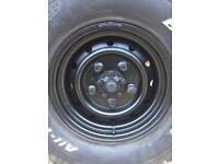 Landrover Defender Wolf wheels 16x7