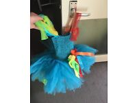 Rainbow Dash handmade tutu dress.