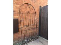 Garden side gate