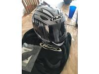 HJC CL14 MOTORCYCLE HELMET SIZE 58 MEDIUM