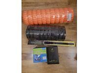 Gym equipment workout foam roller