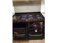 6 Burner Gas with Hotplate, Grill, Gas Oven,Fan Assisted Oven,Plate Warming Hob /Proving Drawer